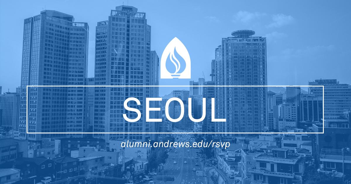 Andrews Event in Seoul, S. Korea
